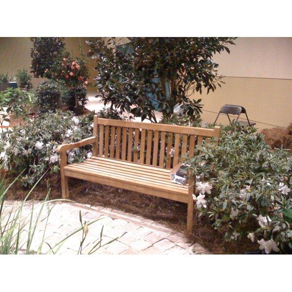 Quinlan Teak Garden Bench by Darby Home Co