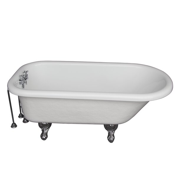 60 x 24.5 Soaking Bathtub Kit by Barclay
