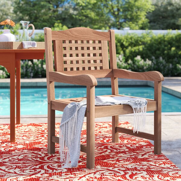 Brighton Patio Dining Chair by Sol 72 Outdoor