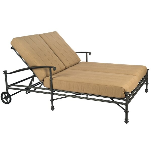 Nova Double Lounge Chaise by Woodard