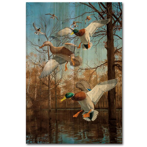 Greenhead Haven Painting Print Plaque by WGI-GALLERY