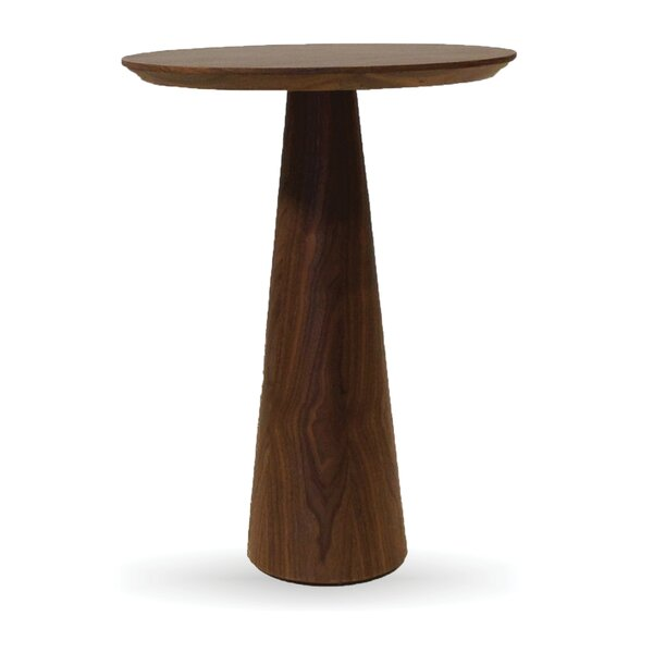 Newsome Tall End Table by Rosdorf Park