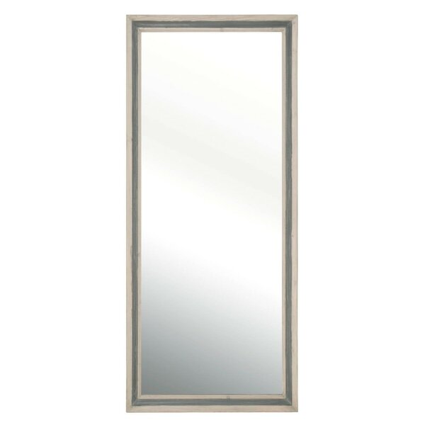 Josephine Pine Wood Frame Transitional Full Length Mirror by Foundry Select