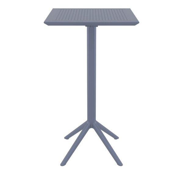 Ravensworth Folding Plastic Bar Table by Ebern Designs