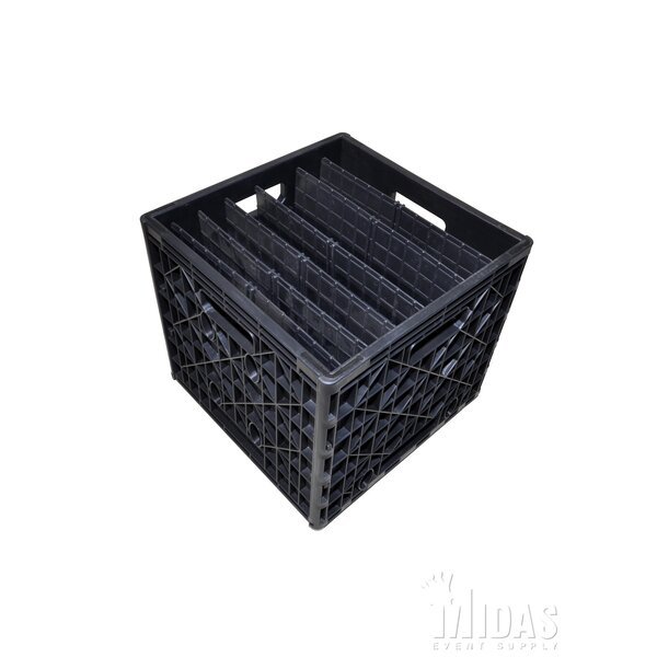 Midas Event Supply Dinner Plate Crate | Wayfair