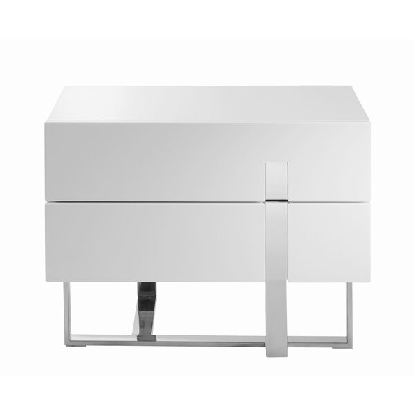 Lotti 2 Drawer Nightstand by Orren Ellis