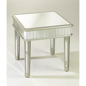 Wildon Home ? Square Mirrored End Table