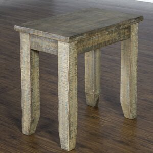 Driftwood End Table by Breakwater Bay