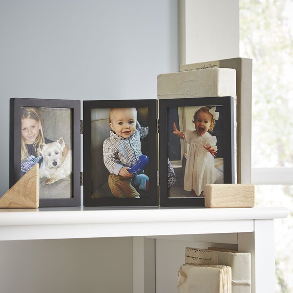 Trio Hinged Wood Picture Frame By Birch Lane Kids.