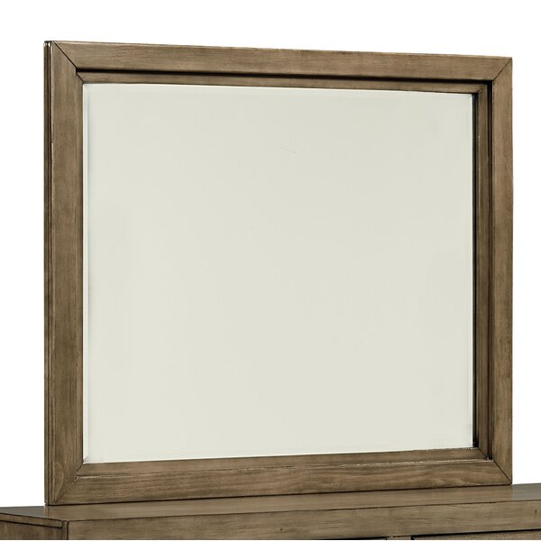 Lipscomb Square Dresser Mirror by Gracie Oaks