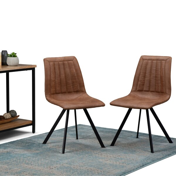 Lamartine Upholstered Dining Chair (Set of 2) by Union Rustic Union Rustic