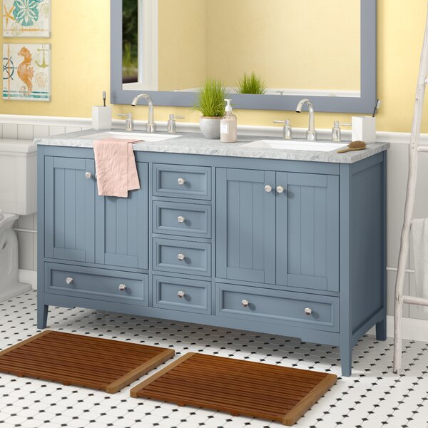 Murdoch 60 Double Bathroom Vanity Set by Beachcrest Home