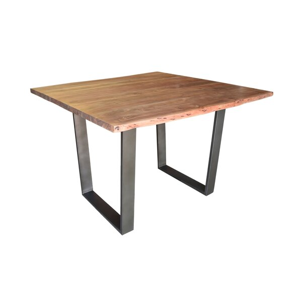 Kourtney Counter Height Solid Wood Dining Table by Union Rustic Union Rustic