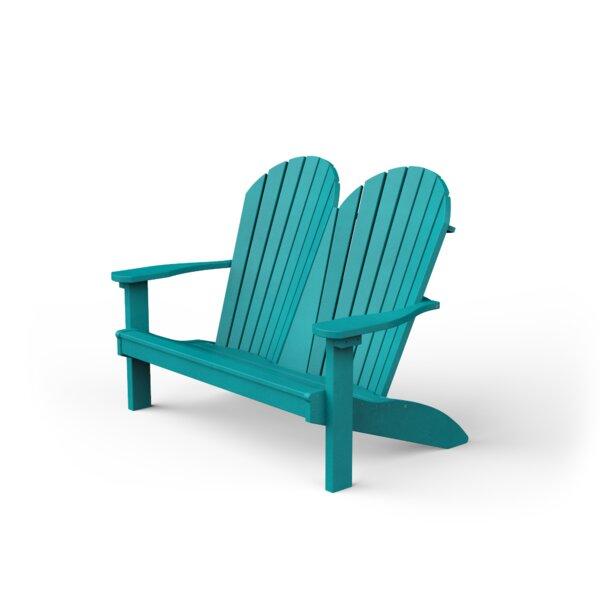 Plastic Garden Bench by YardCraft
