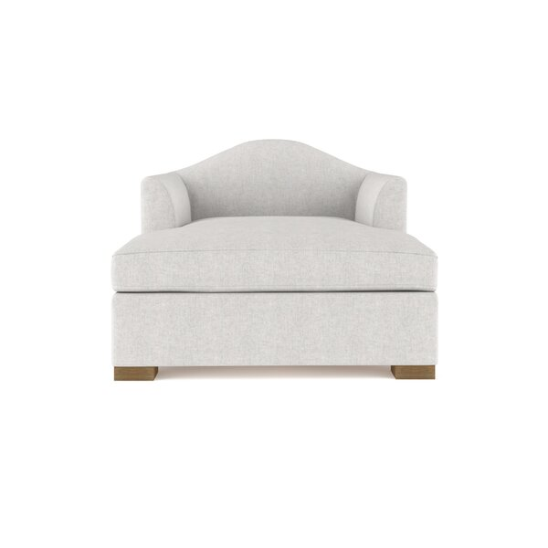 Aughalish Velvet Chaise Lounge By Canora Grey