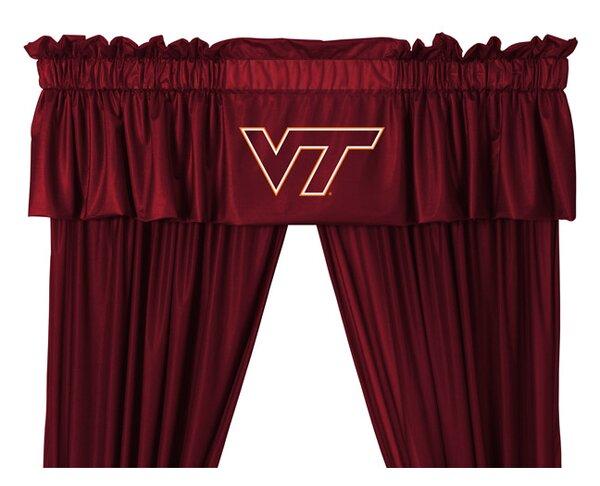 NCAA 88 Virginia Tech Hokies Curtain Valance by Sports Coverage Inc.