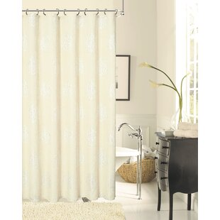 Bargain Grassmere Rose Shower Curtain ByAugust Grove