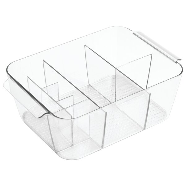 Divided Bin Cosmetic Organizer by Rebrilliant