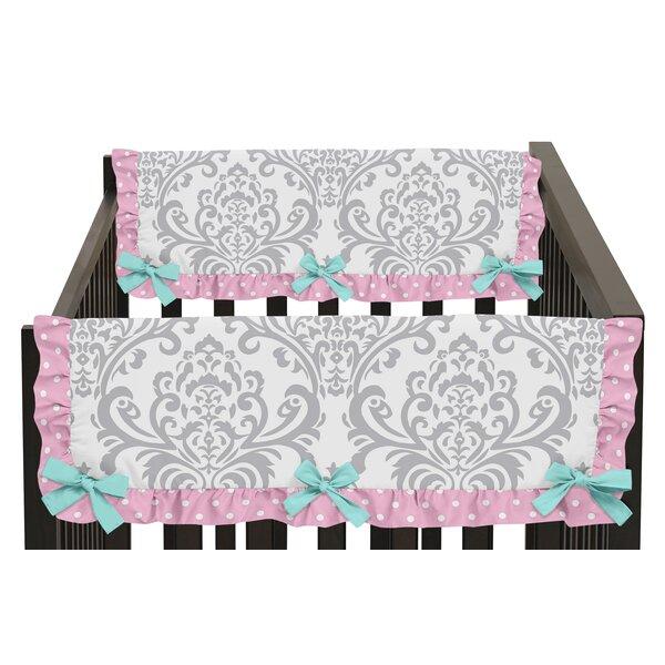 Skylar Side Crib Rail Guard Cover (Set of 2) by Sweet Jojo Designs