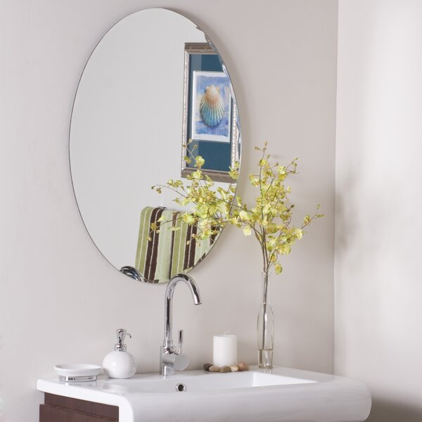 Frameless Ava Wall Mirror by Decor Wonderland