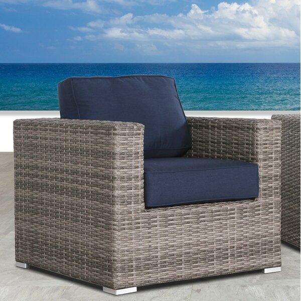 Feather Resort Grade Club Patio Chair with Sunbrella Cushions by Orren Ellis