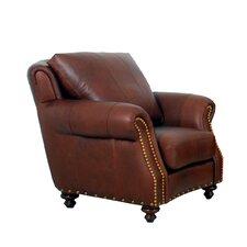 Randolph Genuine Top Grain Club Chair by Westland and Birch