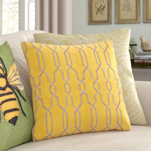 Hayley Decorative Linen Pillow Cover by Birch Lane™