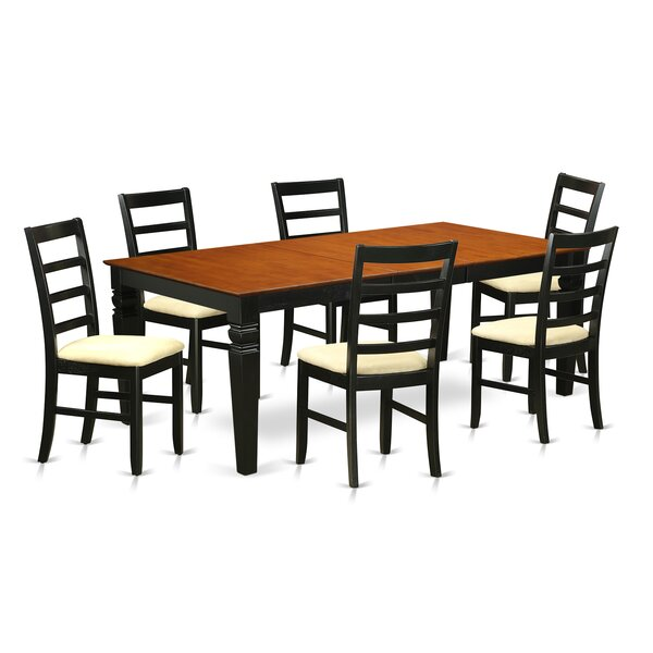Logan 7 Piece Dining Set by Wooden Importers