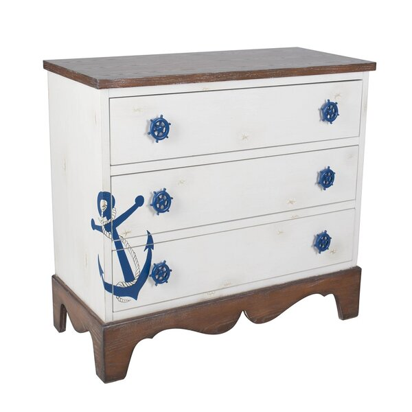Basiri 3 Drawer Accent Chest By Longshore Tides