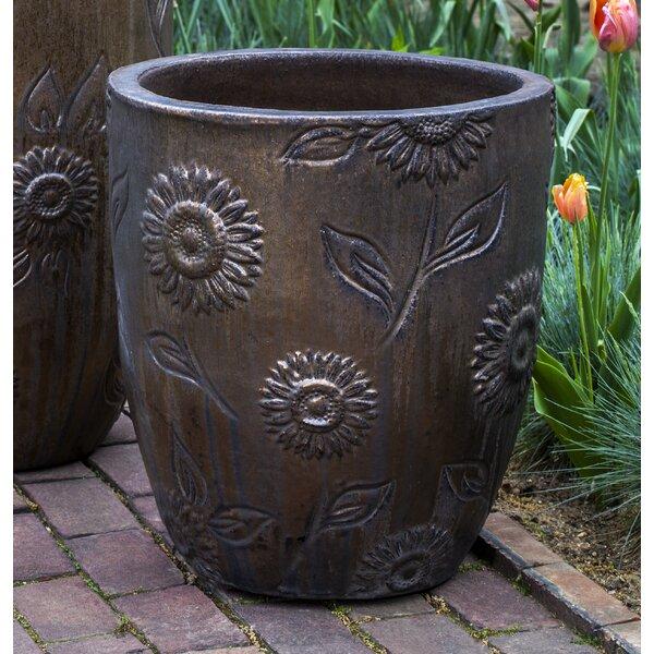 Ada Sunflower TerraCotta Pot Planter (Set of 3) by August Grove