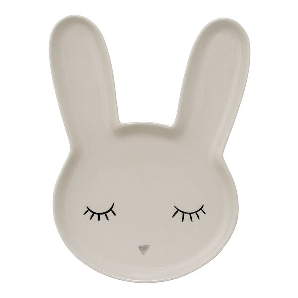 Markus Ceramic Bunny Decorative Plate by Viv + Rae