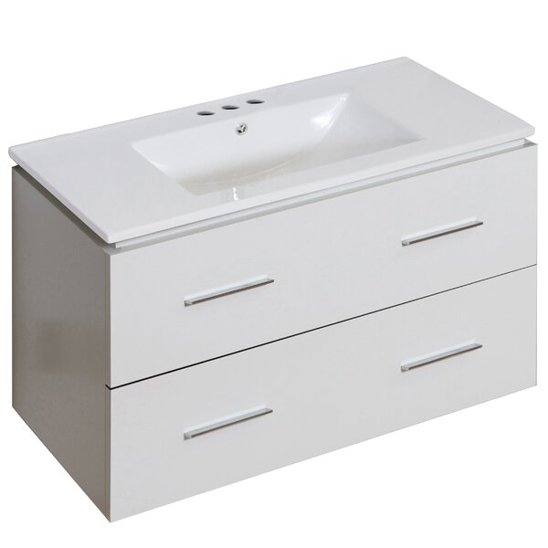 Kyra Modern 36 Single Bathroom Vanity by Orren Ellis