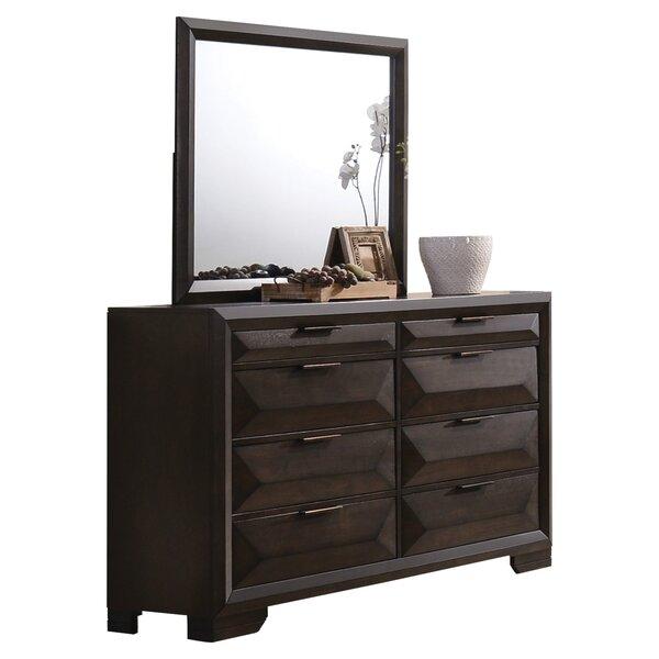 Lancelot 8 Drawer Double Dresser by Brayden Studio