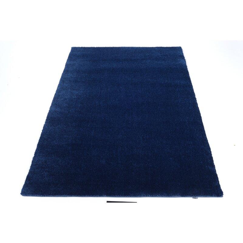 Dark Blue Rug Wayfair Co Uk