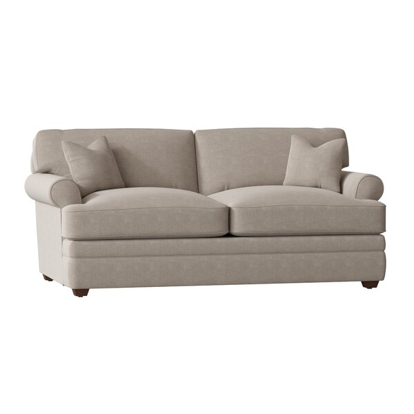 Living Your Way Rolled Arm Apartment Sofa By Wayfair Custom Upholstery™