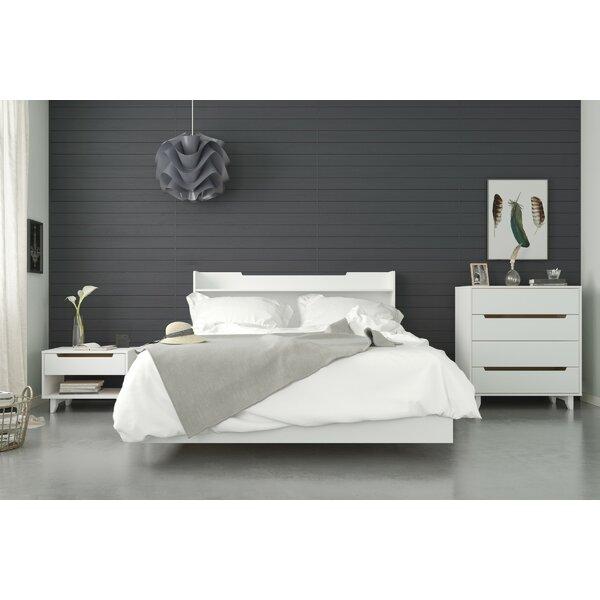 Shona Platform 4 Piece Bedroom Set by Ebern Designs