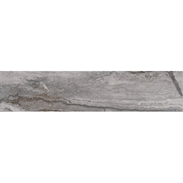 Bernini Carbone 4 x 18 Porcelain Field Tile in Gray by MSI