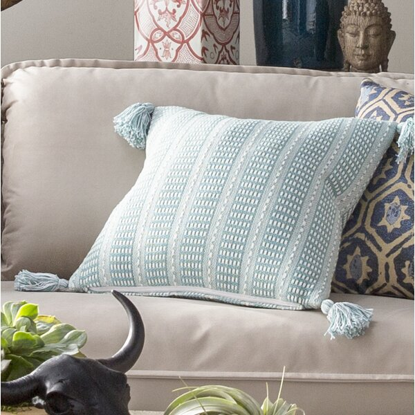Kentfield Reversible Throw Pillow by Beachcrest Home