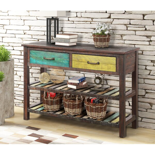 Natsumi 45'' Console Table by World Menagerie World Menagerie
