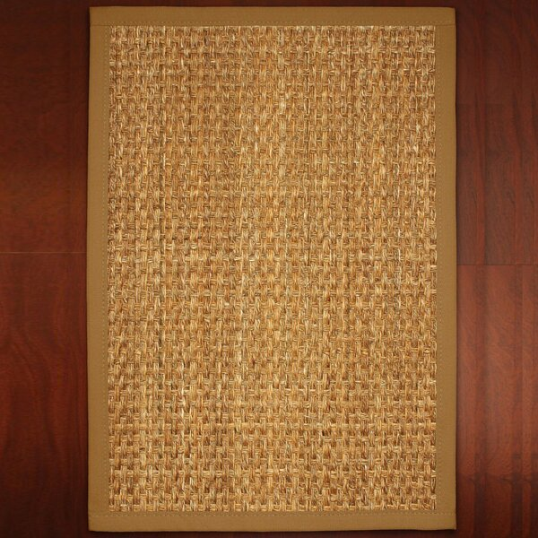 Abigail Hand-Woven Brown Area Rug by Threadbind