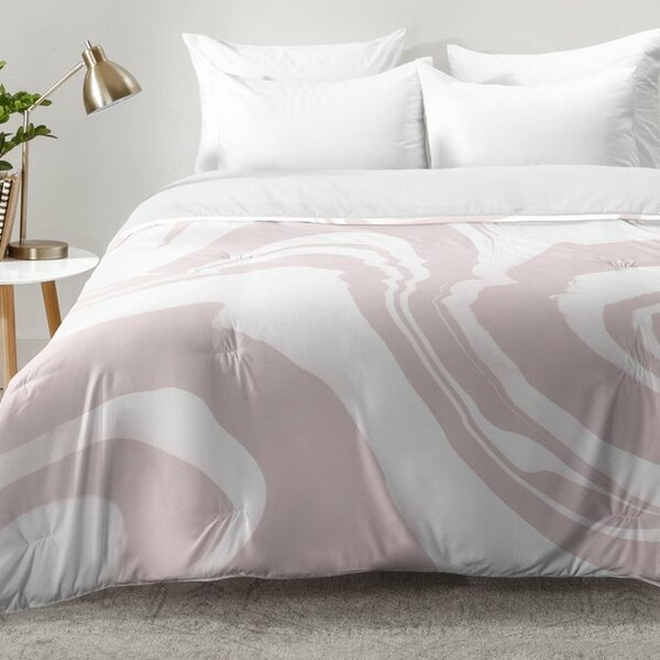 Marble Structure Comforter Set