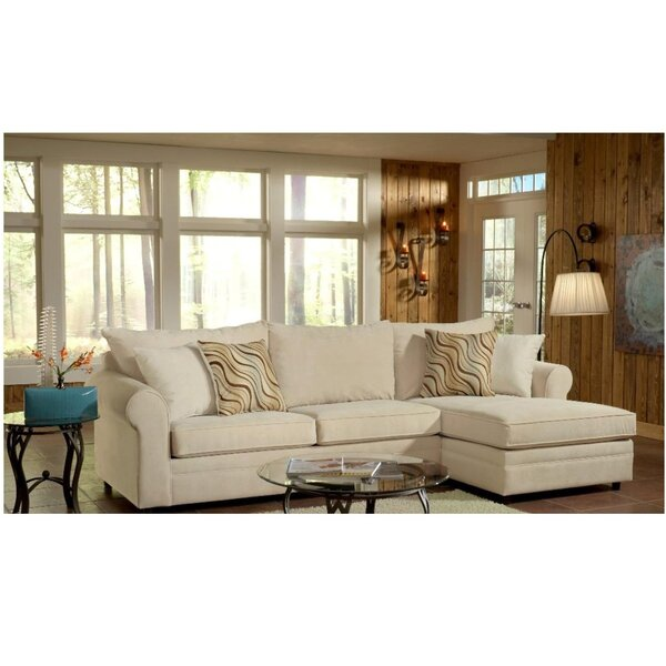 Kenton 2 Piece Sectional Set by Darby Home Co