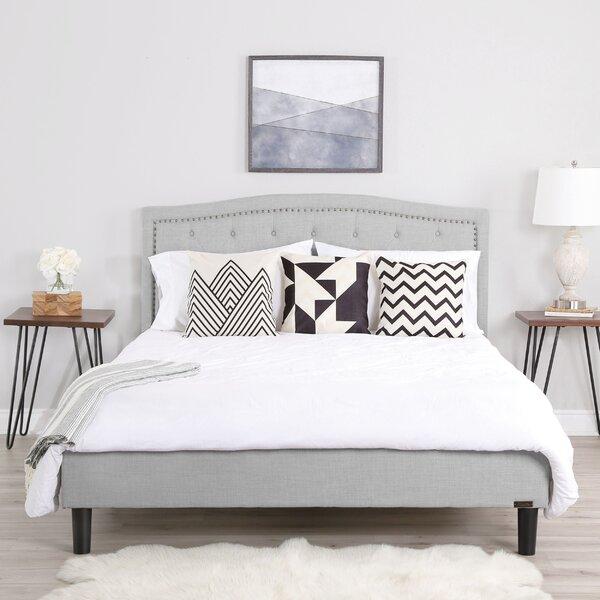 Palko Upholstered Platform Bed by Alcott Hill
