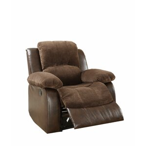 Alec Manual Recliner by Latitu..