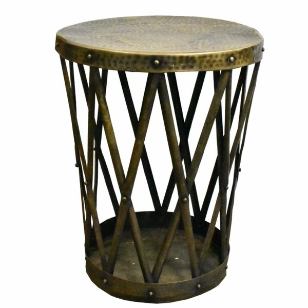 Cosentino Metal End Table by World Menagerie