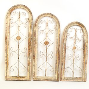 Wall Decor Set fake window wall decor wood | wayfair