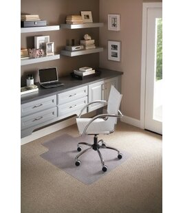 Anchormat Low Pile Carpet Beveled Edge Chair Mat by ES Robbins Corporation