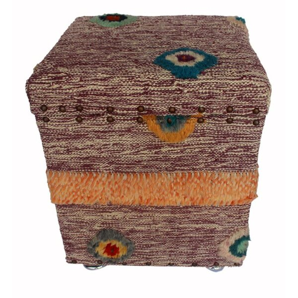 Ringer Morrocan Storage Ottoman by World Menagerie