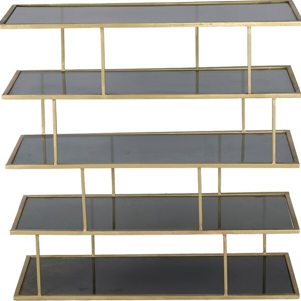 Jeff Etagere Bookcase by Rosdorf Park