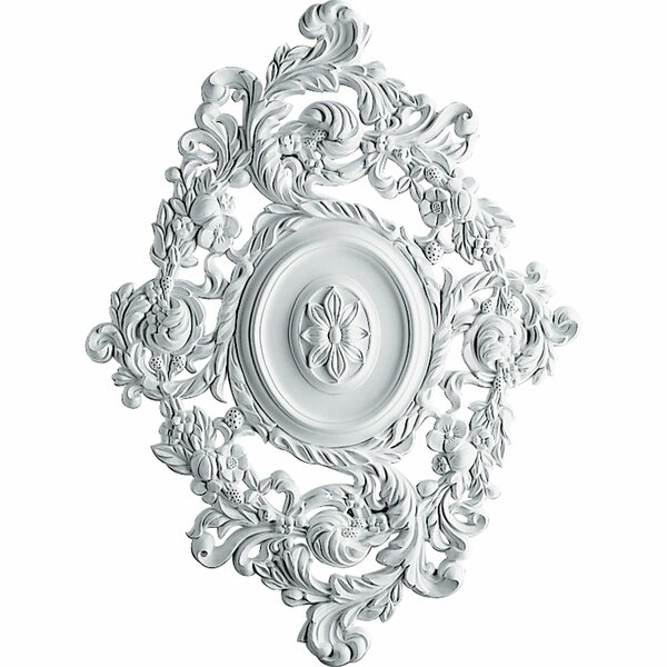 Katheryn 30 3/8H x 22 1/2W x 1 1/2D Ceiling Medallion by Ekena Millwork